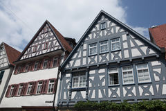 Marbach am Neckar, Baden-Wurttemberg, Germania fotografia stock