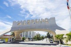 marbella西班牙 库存照片