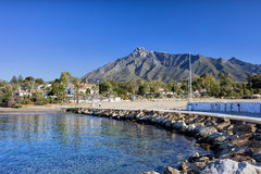 Marbella θέρετρο διακοπών στην Ισπανία στοκ φωτογραφία