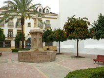 Marbella κάτω από την πόλη Στοκ φωτογραφίες με δικαίωμα ελεύθερης χρήσης