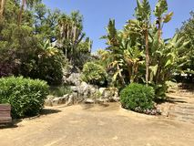 Marbella πάρκο στοκ φωτογραφία