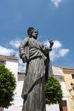 MARBELLA, ANDALUCIA/SPAIN - 23 ΜΑΐΟΥ: Άγαλμα Αγίου Bernard μέσα Στοκ εικόνες με δικαίωμα ελεύθερης χρήσης