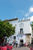 MARBELLA, ANDALUCIA/SPAIN - 23 ΜΑΐΟΥ: Plaza de Los Naranjos στο μΑ Στοκ Εικόνες