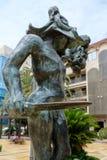 MARBELLA, ANDALUCIA/SPAIN - 6 DE JULHO: Salvador Dali Sculpture de imagens de stock