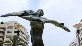 MARBELLA, ANDALUCIA/SPAIN - 6 DE JULHO: Salvador Dali Sculpture Gal fotografia de stock