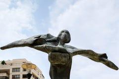 MARBELLA, ANDALUCIA/SPAIN - 6 DE JULHO: Salvador Dali Sculpture Gal fotografia de stock royalty free