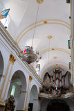 MARBELLA, ANDALUCIA/SPAIN - JULY 6 : Interior of the Church of t stock photo