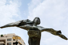 MARBELLA, ANDALUCIA/SPAIN - JULY 6 : Salvador Dali Sculpture Gal Royalty Free Stock Photography