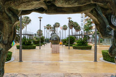 MARBELLA, ANDALUCIA/SPAIN -JULY 6 : Statues by Salvador Dali in Stock Image