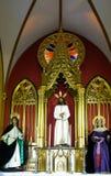 MARBELLA, ANDALUCIA/SPAIN - 6 LUGLIO: Altare nella chiesa della E Immagine Stock Libera da Diritti