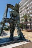 MARBELLA, ANDALUCIA/SPAIN - 23 MAI : Gala à la statue b de fenêtre Photos libres de droits