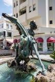 MARBELLA, ANDALUCIA/SPAIN - 23. MAI: Statue vom schönen  Lizenzfreies Stockfoto