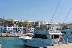 MARBELLA, ANDALUCIA/SPAIN - MAJ 26: Widok Marina przy Marbe Zdjęcie Stock