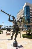 MARBELLA, ANDALUCIA/SPAIN - MAY 23 : Mercurio Statue by Salvador Stock Photos