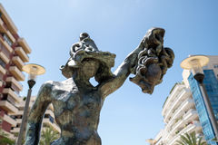 MARBELLA, ANDALUCIA/SPAIN - MAY 23 : Perseo Statue by Dali in Ma Stock Image