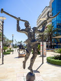 MARBELLA, ANDALUCIA/SPAIN _ MAY 4 : Salvador Dali sculpture in M Royalty Free Stock Image