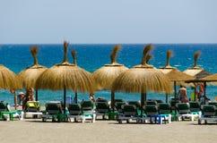 Marbella, Andalusia luglio 2015 Puerto Banus è il porto sciccoso della Spagna del sud Immagini Stock Libere da Diritti