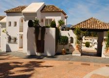 Marbella apartments Royalty Free Stock Photo