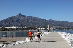 marbella banus puerto Ισπανία στοκ εικόνες