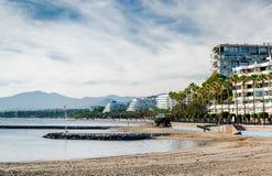Marbella beach Royalty Free Stock Photography