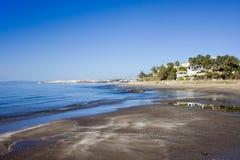 Marbella Beach on Costa del Sol in Spain Royalty Free Stock Photos