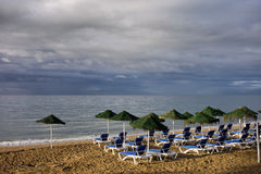 Marbella Beach in Spain Stock Photography