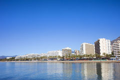 Marbella Cityscape in Spain Royalty Free Stock Photos
