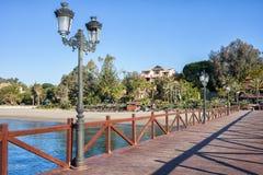 Marbella on Costa del Sol in Spain Stock Photos