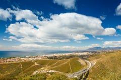 Marbella de una colina Foto de archivo libre de regalías