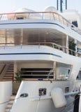 Marbella, España 3 de septiembre de 2014: Yate de lujo famoso de señora Haya Fotografía de archivo