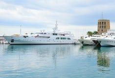 Marbella-Hafen Lizenzfreies Stockbild