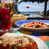 Marbella jedzenia życie Fotografia Stock