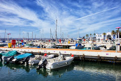 Marbella Marina in Spain Stock Photo
