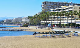 marbella plażowy venus Spain zdjęcia royalty free