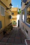 Marbella poca calle Imagen de archivo