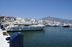 Marbella port, Andalusia, Spain Stock Photo