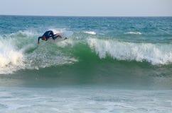 #Marbella praticante il surfing Fotografie Stock