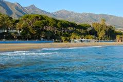 Marbella sea Stock Photo
