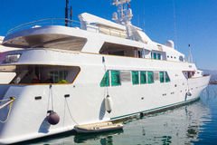 Marbella, Spain September 3, 2014: Lady Haya famous luxury yacht Stock Photography