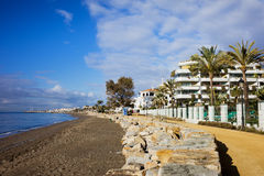 Marbella in Spanien Stockfotografie