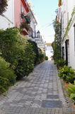 Marbella street Royalty Free Stock Images