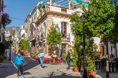 Marbella un giorno soleggiato di gennaio Fotografie Stock Libere da Diritti