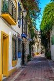 Marbella un giorno soleggiato di gennaio Immagine Stock Libera da Diritti