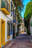 Marbella un jour ensoleillé de janvier Image libre de droits