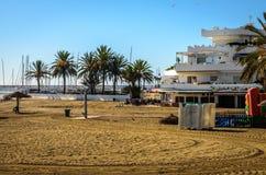 Marbella un jour ensoleillé de janvier Photos stock