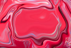Marble abstract background. Mesh liquid surface digital illustration with fuchsia paint drips Royalty Free Stock Photos
