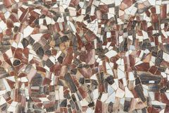 Marble abstract stone mosaic texture as background Royalty Free Stock Image
