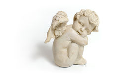 Marble angel stock image