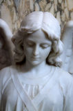 Marble Angel. Statue of an angel in a Roman Catholic church Royalty Free Stock Photography