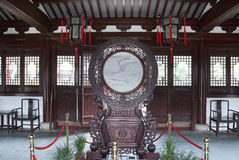Chinese ancient lobby Traditional furniture  Royalty Free Stock Photo